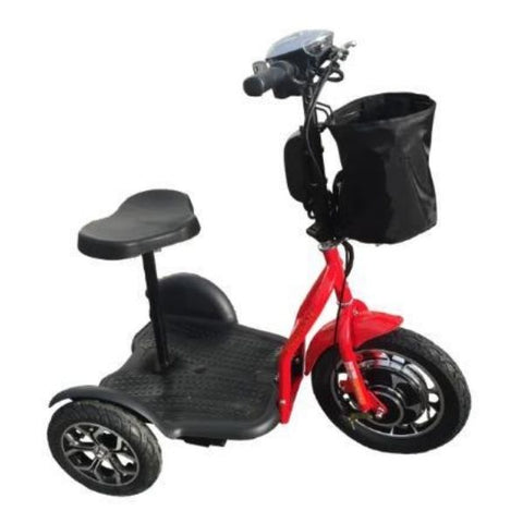 RMB Protean Folding 3 Wheel Scooter Red Right View