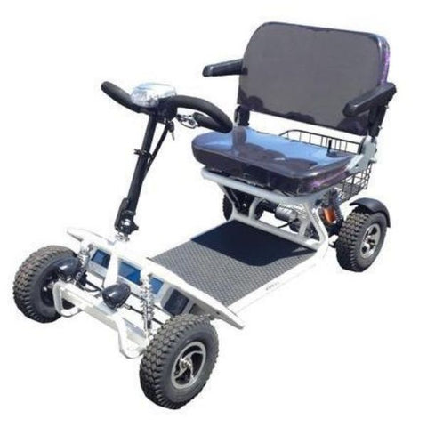 RMB  e Quad Mobility Scooter Front View