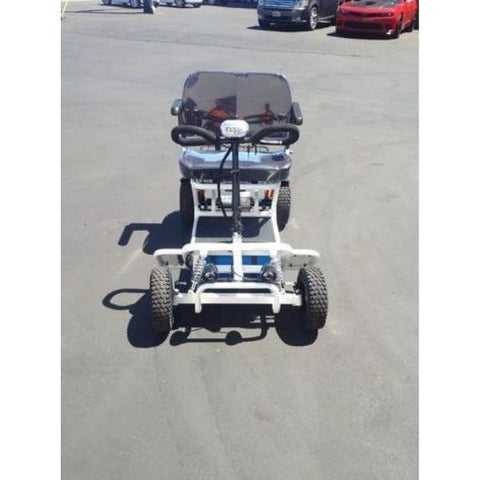 RMB e Quad Powerful 4 Wheel Mobility Scooter Front View