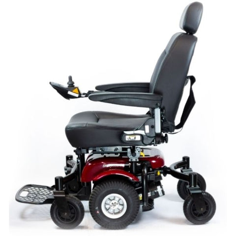 Shoprider 6Runner 10 Mid Size Power Wheelchair Side View
