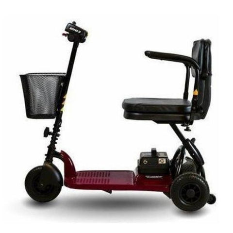 Shoprider Echo Light 3 Wheel Scooter SL73 Side View