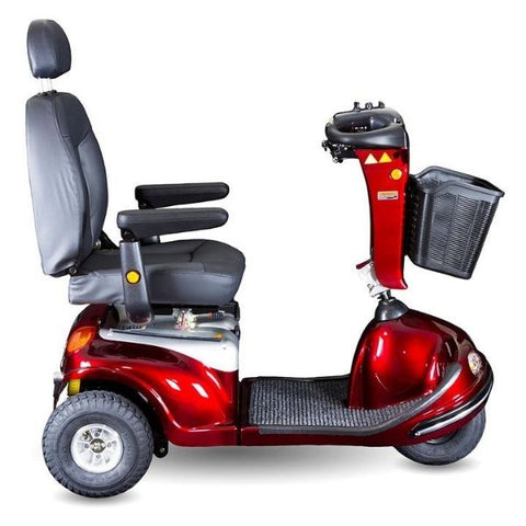 Shoprider Enduro XL3 Wheel Scooter 778XLSBN Side View