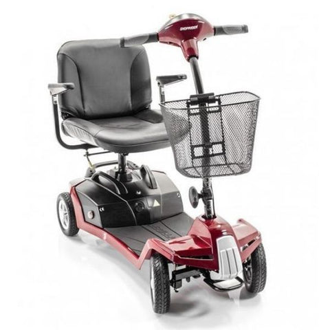 Shoprider Escape 4 Wheel Travel Scooter Front View