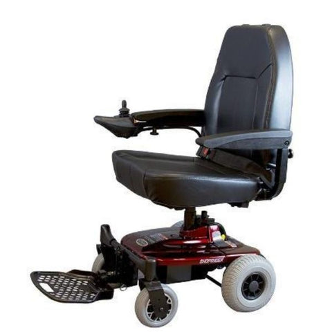 Shoprider Jimme Portable Power Chair Left View
