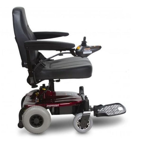 Shoprider Jimmie Portable Power Chair Side View