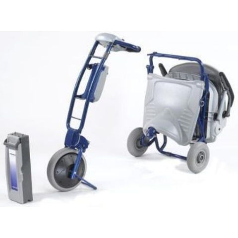 Tzora Easy Travel Elite 3 Wheel Scooter Disassemble View