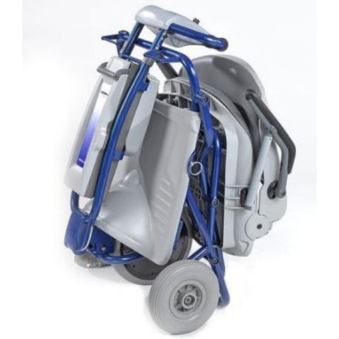 Tzora Easy Travel Elite 3 Wheel Scooter Folding View