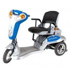 Tzora Titan 3 Wheel Electric Mobility Scooter Left View