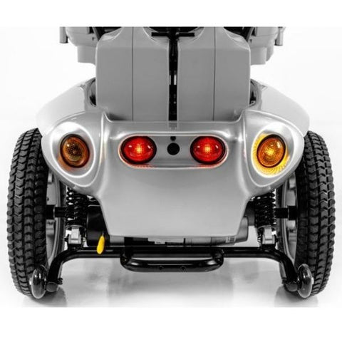 Tzora Titan Hummer XL 4 Wheel Mobility Scooter Back Lights View