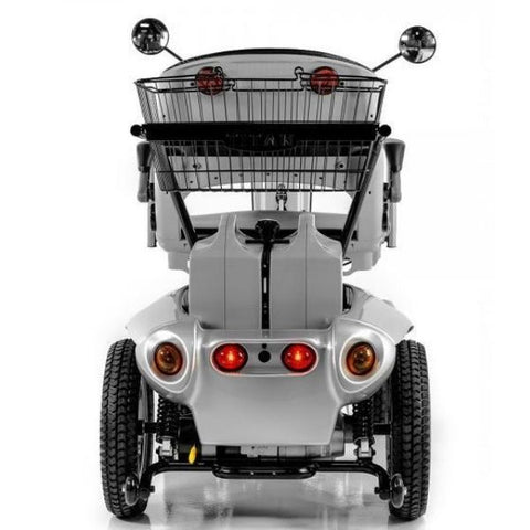 Tzora Titan Hummer XL 4 Wheel Mobility Scooter Rear Storage Basket View