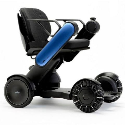 Whill Model Ci Portable Power Wheelchair Blue Right View
