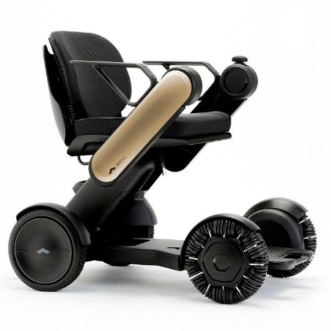 Whill Model Ci Portable Power Wheelchair Gold Right View