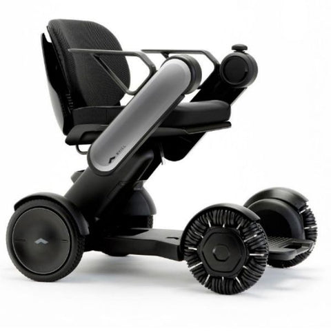 Whill Model Ci Portable Power Wheelchair Gray Right View