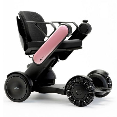 Whill Model Ci Portable Power Wheelchair Pink Right View