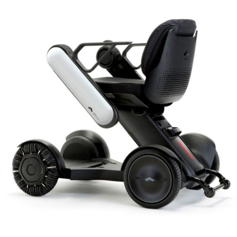 Whill Model Ci Portable Power Wheelchair White Back View