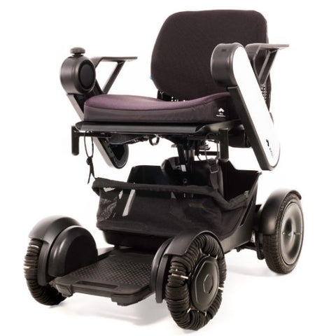Whill Model Ci Portable Power Wheelchair White Front View