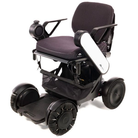 Whill Model Ci Portable Power Wheelchair White Left Side