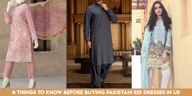 4 Things to know before Buying Pakistani Eid Dresses in US