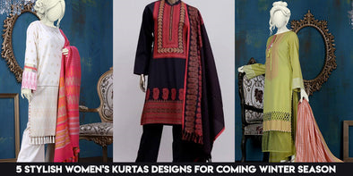 5 Stylish Women's Kurtas Designs for Coming Winter Season