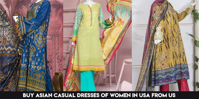 Buy Asian Casual Dresses of Women in USA from us