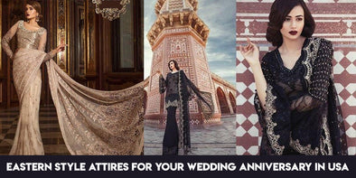 Buy Eastern style attires for your wedding anniversary in USA