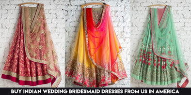 Buy Indian Wedding Bridesmaid Dresses from Us in America