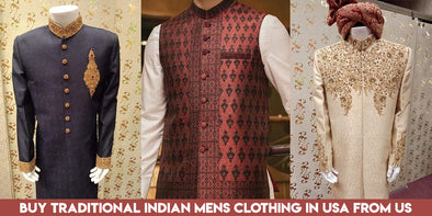 Buy Traditional Indian Mens Clothing in USA from Us