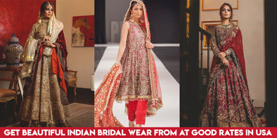 Get Beautiful Indian Bridal Wear from NameerabyFarooq at good rates in USA
