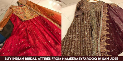 Indian Bridal Clothing from NameerabyFarooq in San Jose CA USA