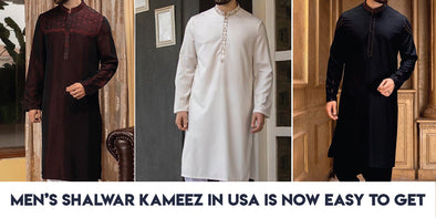 Men's Shalwar Kameez in USA is now easy to get