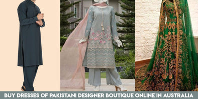 Now you can Buy Dresses of Pakistani Designer Boutique Online in Australia