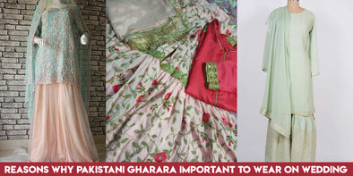 Reasons why Pakistani Gharara Important to Wear on Wedding