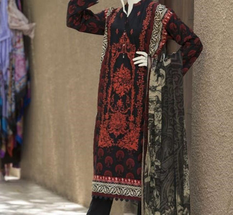 3 Piece Stiched Pakistani Clothes in USA