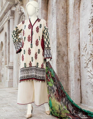 3 Piece Stiched Pakistani Dresses for Women
