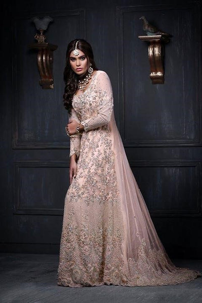 Asian Wedding Maxi Dresses in Online at Nameera by Farooq
