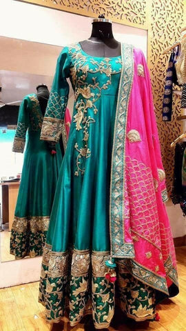 Bangladeshi Wedding Attires for Wedding Functions at NameerabyFarooq