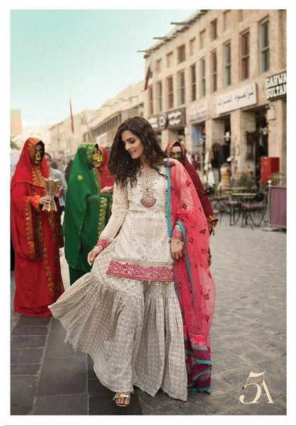 Beautiful Pakistani Eid Dresses 2019 Online at Nameera by Farooq