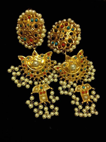 Buy Asian Kundan Jewelry Online at Nameera by Farooq