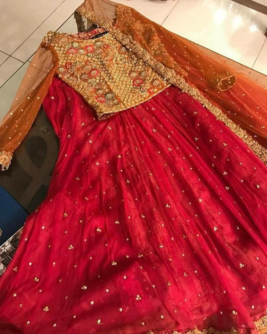 Buy Indian Mehendi Lehenga Choli Dress for Indian Bridal in Austrailia