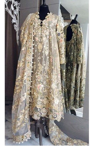 Buy Latest Eid Dresses 2019 for Pakistani Living in Canada at NameerabyFarooq