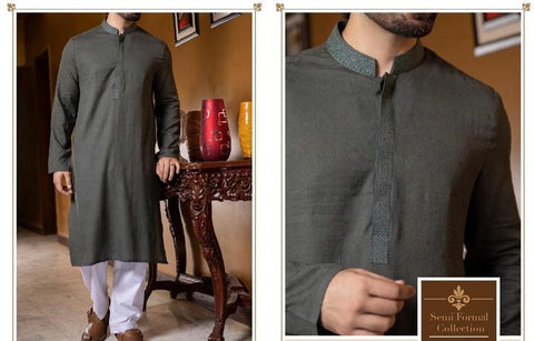 Buy Latest Pakistan Men EId ul Fitr Dresses Eid Shalwar Kameer Online at NameerabyFarooq