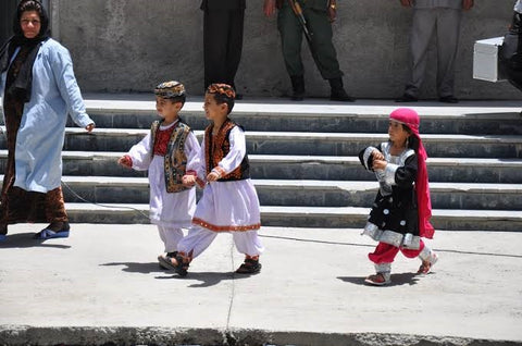 Cultural Dresses for Kids in Pakistan