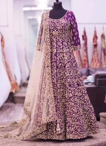 Indian Bridal Dresses Online at Nameera by Farooq