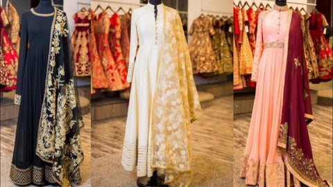 Indian Bridal Engagement Dresses Online at NameerabyFarooq in USA