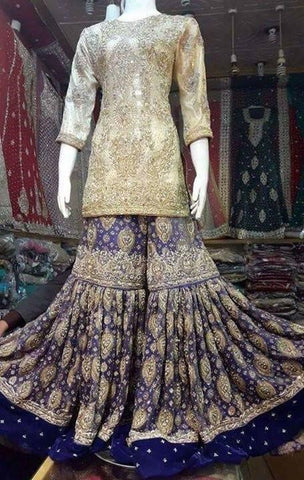 Indian Cultural Wedding Bridal Dress 2019 for Indian in Australia at NameerabyFarooq