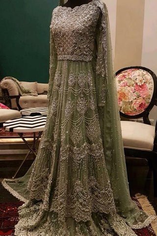 Pakistani Bridal Frocks for Weddings