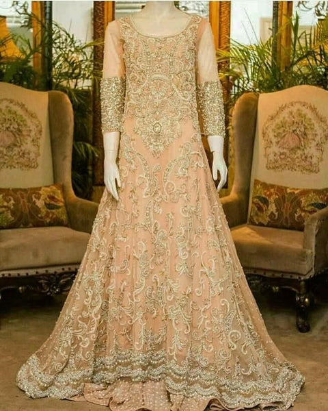 Pakistani Bridal Maxi Dress For Wedding in USA