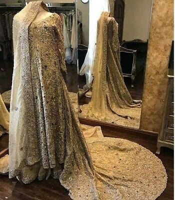 Pakistani Bridal Wedding Gown at Affordable Price in USA