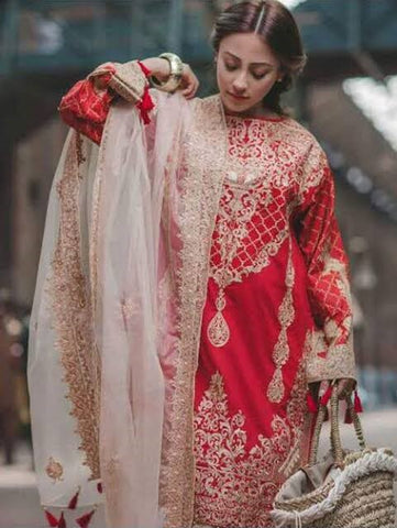 Pakistani Designer Bridal After Wedding Dresses Online