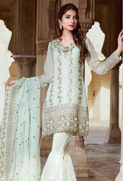 Pakistani Designer Party Wear Online at Nameera by Farooq